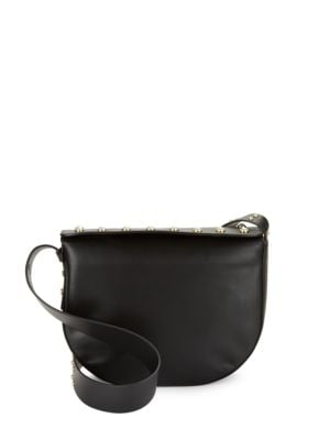 Leather Crossbody by IMNYC Isaac Mizrahi