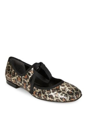 Lisa Sequined Mary Janes by Marc Jacobs