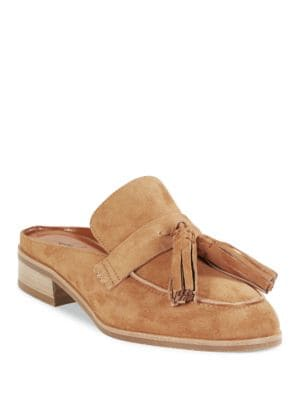 Stella Suede Loafer Slides by Aquatalia