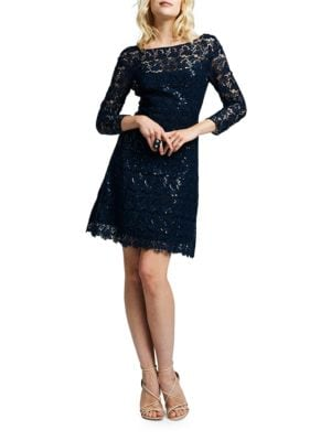 Sequined Cocktail Dress by Kay Unger