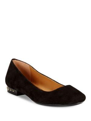Buy Fridelle Suede Flats by Calvin Klein online