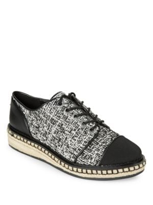 Lena7 Tweed Oxfords by Karl Lagerfeld Paris