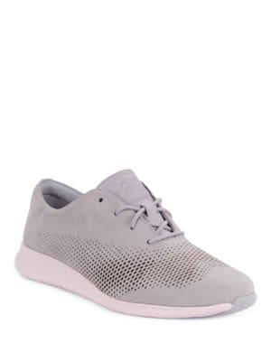 Zerogrand Perforated Leather Sneakers by Cole Haan