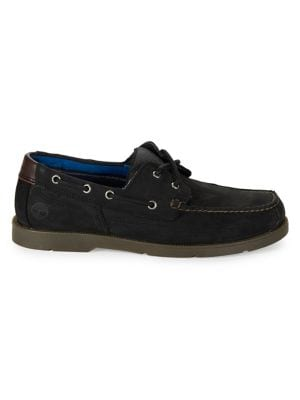 Piper Cove Leather Lace-Up...