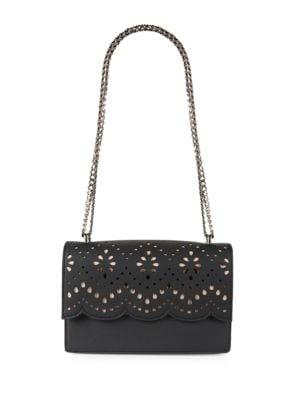 Mara Leather Cocktail Crossbody Bag by Ivanka Trump
