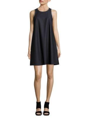Photo of Calvin Klein Chambray Trapeze Dress