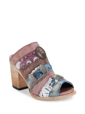 Budha Paneled Sandals by Freebird By Steven