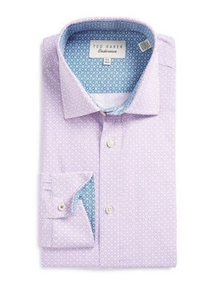 Floral Medallion Dress shirt by Ted Baker London