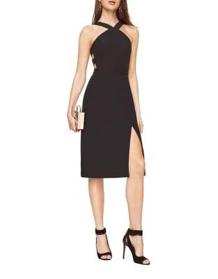 Ruth Crepe Cutout Dress by BCBGMAXAZRIA