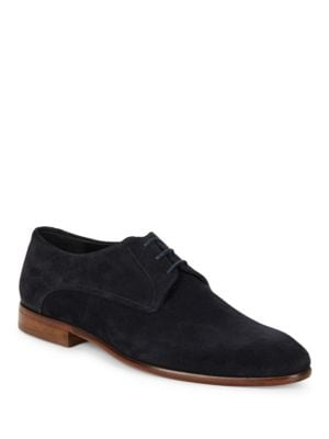 Suede Lace-Up Oxfords by HUGO BOSS
