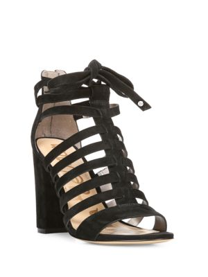 Yarina Open-Toe Cutout Sandals by Sam Edelman