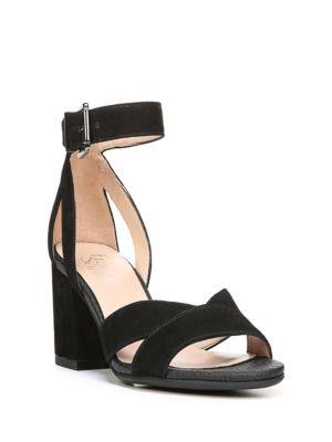 Marlina Suede Sandals by Franco Sarto
