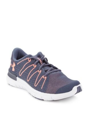 Women's Thrill 3 Mesh Athletic Sneakers by Under Armour