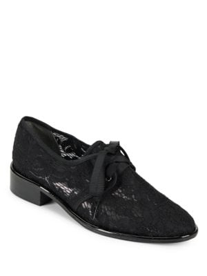 Paisley Floral Lace Oxfords by Adrianna Papell