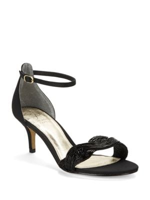 Aerin Metallic Open-Toe Sandals by Adrianna Papell