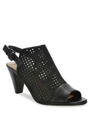 Elsa Cutout Slingback Shooties by Tahari