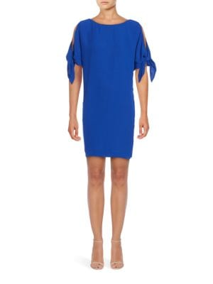 Knot Accented Shift Dress by Vince Camuto