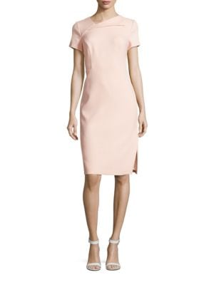 Short Sleeve Sheath Dress by Vince Camuto
