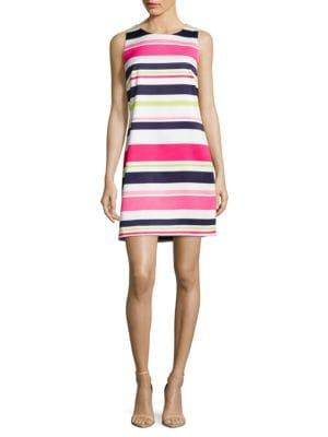 Sleeveless Striped Dress by Eliza J