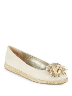 BlondelleFloral Embellished Flats by Bandolino