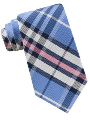 Jones Plaid Silk Tie by Lord & Taylor The Mens Shop