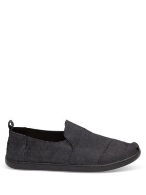 Alpargata Canvas Slip-Ons by TOMS