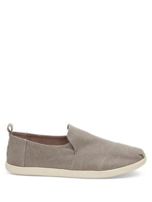 Alpargata Round-Toe Slip-On Sneakers by TOMS