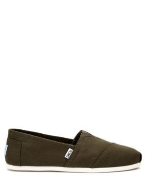 Canvas Slip-Ons by TOMS