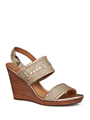 Buy Vanessa Buckled Wedge Sandals by Jack Rogers online