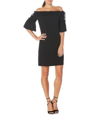 Off-the-Shoulder Dress by Maggy London