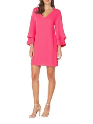Bell Sleeve Shift Dress by Laundry by Shelli Segal
