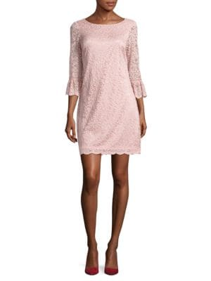 Floral Lace Shift Dress by Vince Camuto