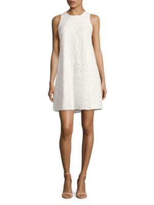 Sleeveless Floral Lace Dress by Tommy Hilfiger