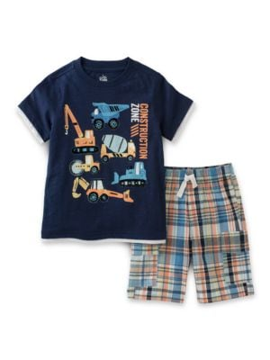 Construction Zone TwoPiece Tee and Shorts Set