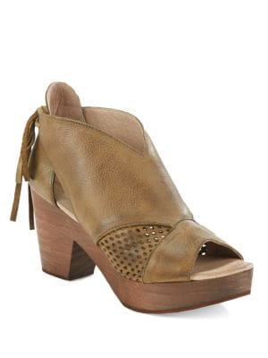 Buy Revolver Open-Toe Platform Booties by Free People online