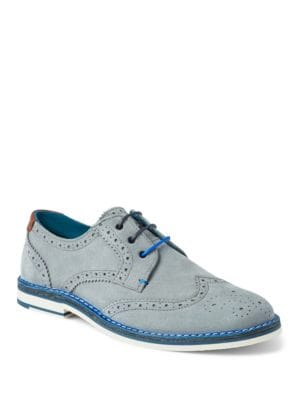 Reith Suede Derby Shoes...