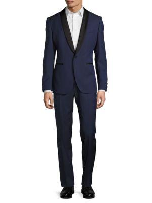 Wool Contrast Tuxedo by Hugo