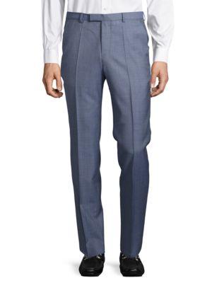 Virgin Wool Suit Pants by Hugo