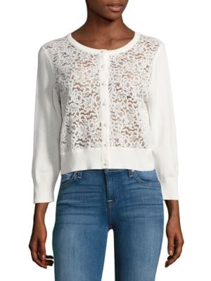 Lace Cardigan by Karl Lagerfeld Paris