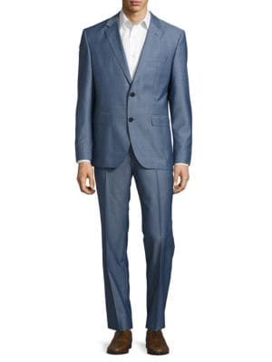 Wool Jacket and Pants Suit Set by Hugo