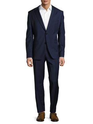 Wool Blazer and Pants Suit Set by Hugo