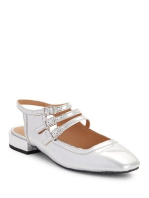 Buy Alicia Faux Leather Flats by Design Lab Lord & Taylor online