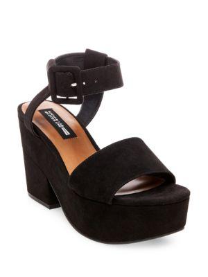Bazaar Platform Sandals by Design Lab Lord & Taylor