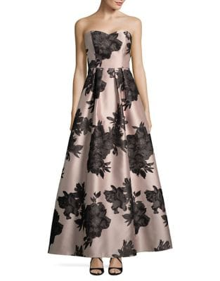 Floral-Printed Fit-&-Flare Dress by Decode 1.8