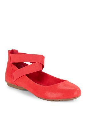 Itcanbe Ankle-Strap Flats by Anne Klein