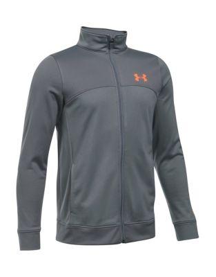 Boy's UA Pennant Warm-Up Jacket 500033943838