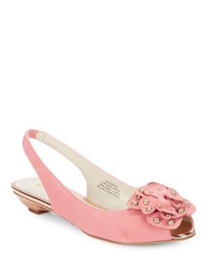 Farrah Peep Toe Sling-Backs by Anne Klein