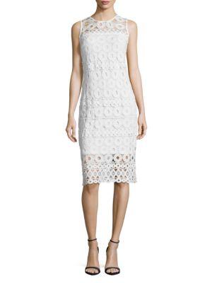 Sleeveless Lace Dress by Taylor