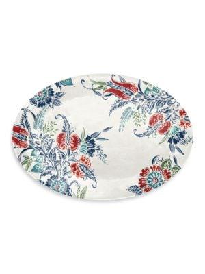 FloralPrinted Platter