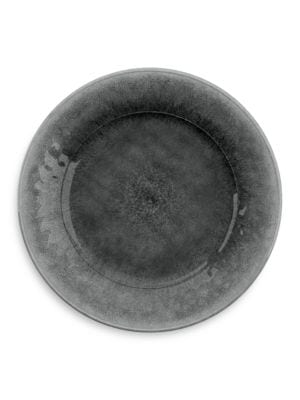 Potters Gray Plate